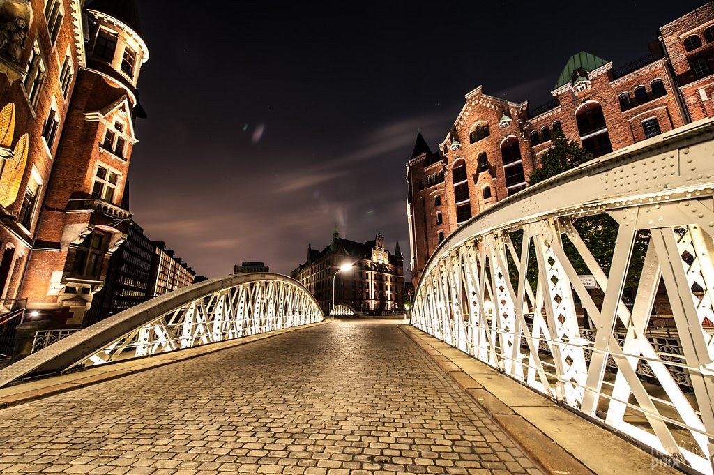 Speicherstadt is watching you